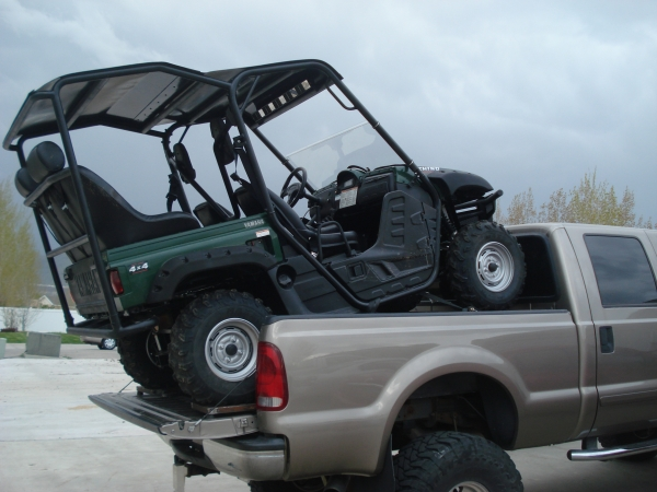 Hauling In Bed Of Truck Page 3 Yamaha Rhino Forum