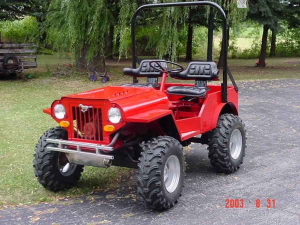 Need chassis Ideas for my Mini Jeep / UTV Trader / Side X ...